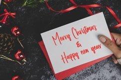 Web Font Lorgnette - Christmas Handwritten Font Product Image 6