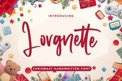 Lorgnette - Christmas Handwritten Font Product Image 1