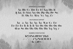 Web Font Lostcity - Display Font Product Image 5