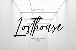 Losthouse Fancy Script Font Product Image 1