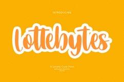 Lottebytes Lovely Cute Font Product Image 1