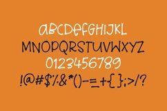 Web Font Loud Scream - a quirky halloween font Product Image 4