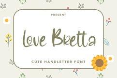 Love Bretta - Cute Love Handletter Font Product Image 1