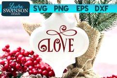 Love SVG Cut File   Christmas SVG Cut File Product Image 1