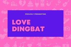 Web Font Love - Dingbat Font Product Image 1