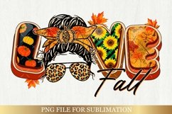Fall Sublimation Bundle - Love Fall Yall Png Autumn Vibes Product Image 3