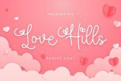 Web Font Love Hills Font Product Image 1