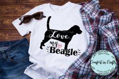 Love My Beagle SVG Product Image 2
