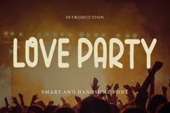 Love Party - Cute Display Font Product Image 1