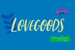 Lovesgoods Handwritten Font Product Image 1