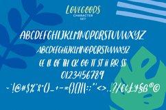 Lovesgoods Handwritten Font Product Image 4