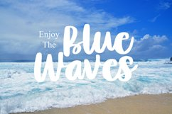 Lovely Blue - Script Handrawn Font Product Image 4