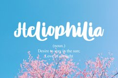 Lovely Blue - Script Handrawn Font Product Image 6