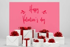 Web Font Lovely Samantha - Valentine Script Font Product Image 2