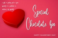 Web Font Lovely Samantha - Valentine Script Font Product Image 4