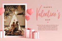 Web Font Lovely Samantha - Valentine Script Font Product Image 5