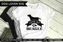 Dog SVG, Love My Beagle SVG