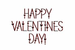 Web Font Lovers - a valentines day font Product Image 2