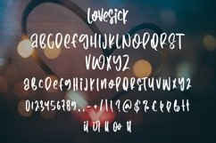 Web Font Lovesick - Valentine Display Font Product Image 2