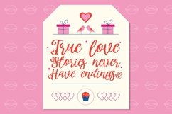Web Font Lovingtown - Lovely Handwriting Font Product Image 5