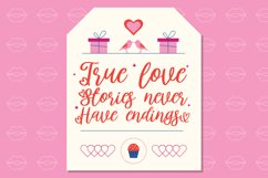 Lovingtown - Lovely Handwriting Font Product Image 5