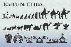 Christmas Dingbat Font   Nativity Font Product Image 5