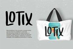 Web Font Loxande - Letterhand Font Product Image 4
