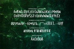 Web Font Loxande - Letterhand Font Product Image 6