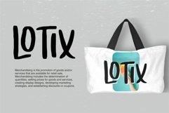 Loxande - Letterhand Font Product Image 4
