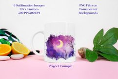 Sublimation PNG Designs - Forest of Stars Lunar Edition Product Image 2