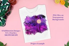 Sublimation PNG Designs - Forest of Stars Lunar Edition Product Image 3