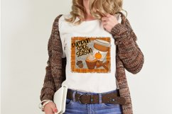 Pumpkin Spice Sublimation Bundle 12 Hand Drawn PNG Designs Product Image 4