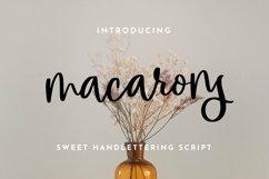 Web Font Macarons - Sweet Handlettering Font Product Image 1