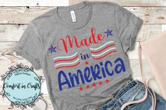 Little Fire Cracker and Made in America Independence Day SVG Product Image 3