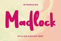 Web Font Madlock - Stylish Display Font Product Image 1