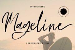 Web Font Mageline - A Brush Script Font Product Image 1