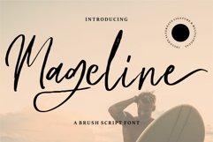 Mageline - A Brush Script Font Product Image 1