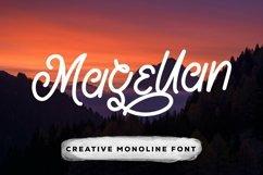 Web Font Magellan - Creative Monoline Font Product Image 1