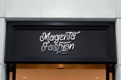 Web Font Magellan - Creative Monoline Font Product Image 2