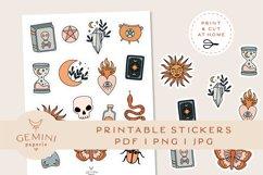 Magic Printable Stickers | Cricut Design Sticker Sheet Product Image 1