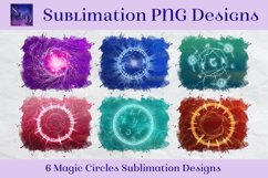 Sublimation PNG Designs - Magic Circles Images Product Image 1