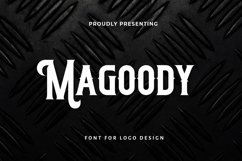 Web Font Magoody - Blackletter Font Product Image 1
