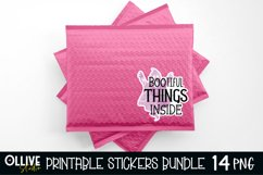 Halloween Small Business Sticker Bundle PNG | Halloween PNG Product Image 2