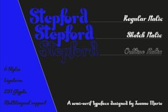 Stepford serif font Product Image 5