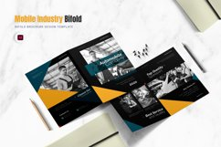 Auto Mobile Industry Bifold Brochure Product Image 1