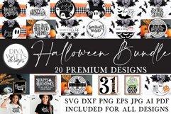 Halloween SVG Bundle of 20 Premium Designs   Sign Making SVG Product Image 1
