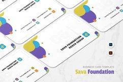 Sava Foundation Business Card Product Image 1