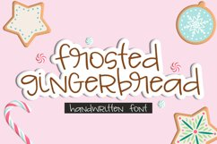 Frosted Gingerbread Handwritten Font Product Image 1