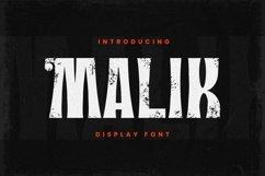Web Font Malik Product Image 2