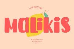 Malikis Display Font Product Image 1